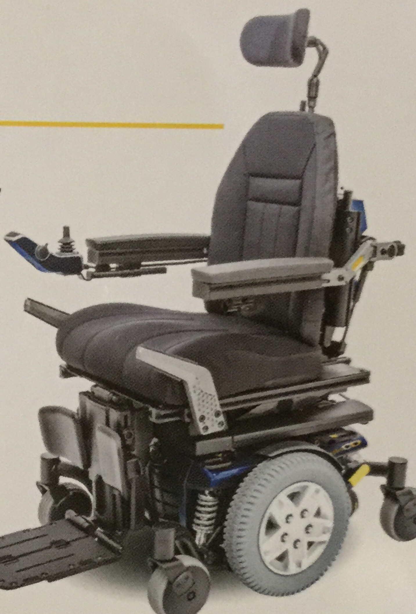 Photo 1 of Qunatum 6 Power wheelchair