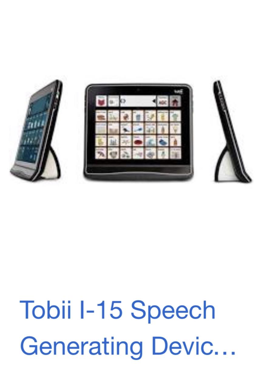 Photo 1 of Tobii 1-15eye- speech device