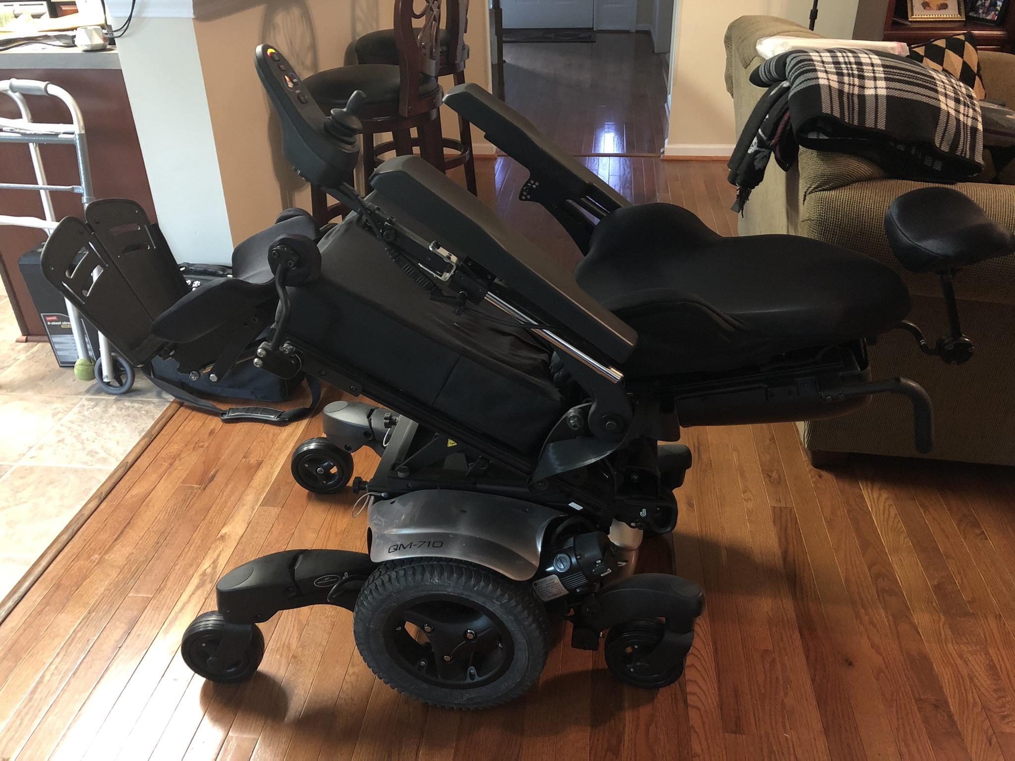 Photo 4 of Quickie QM-710 Power Wheelchair