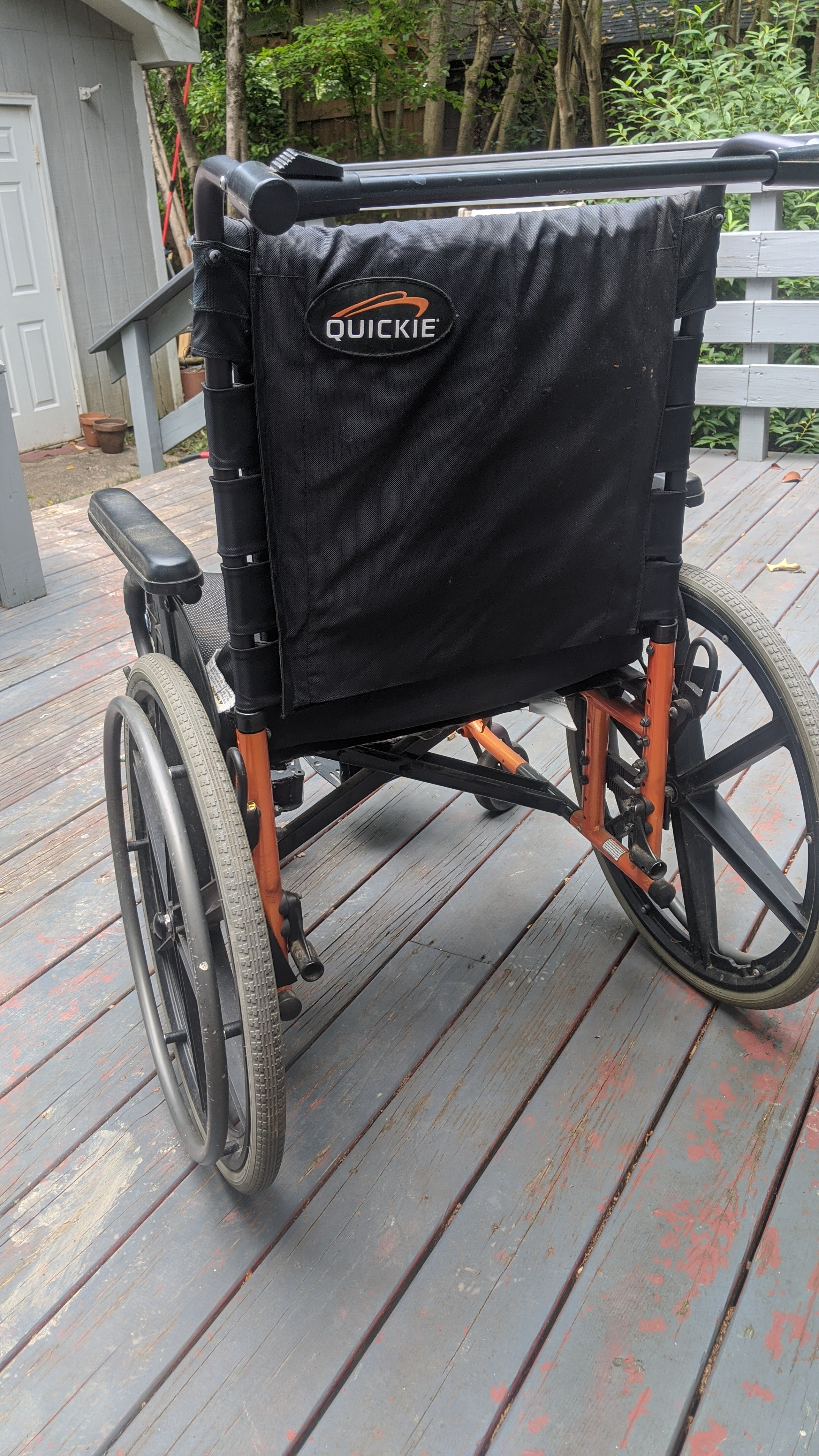 Photo 2 of Quickie Wheelchair