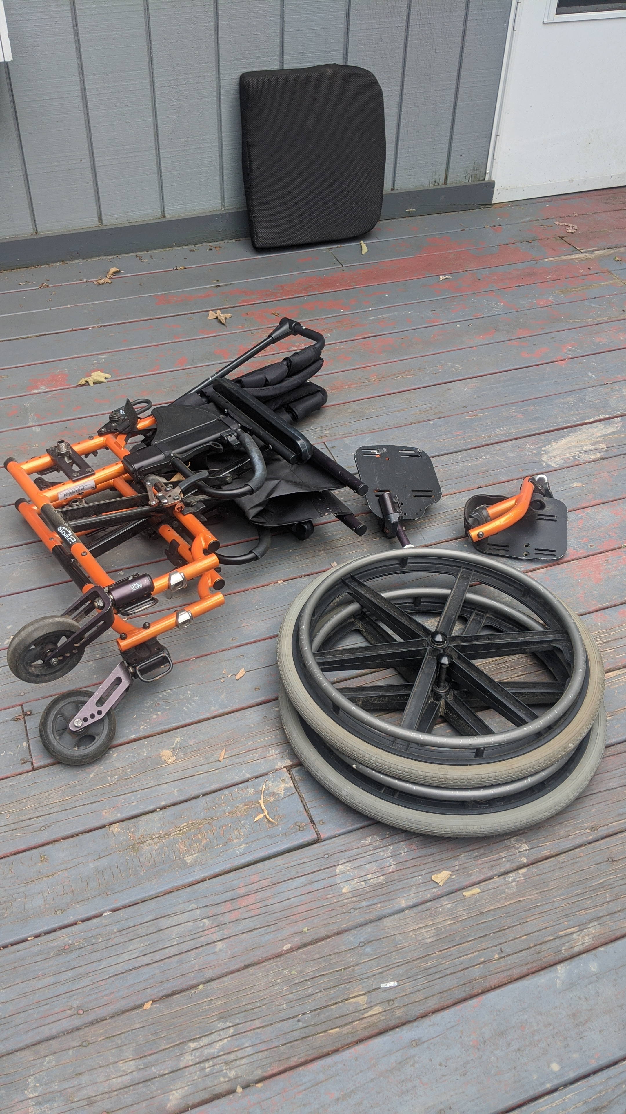 Photo 3 of Quickie Wheelchair