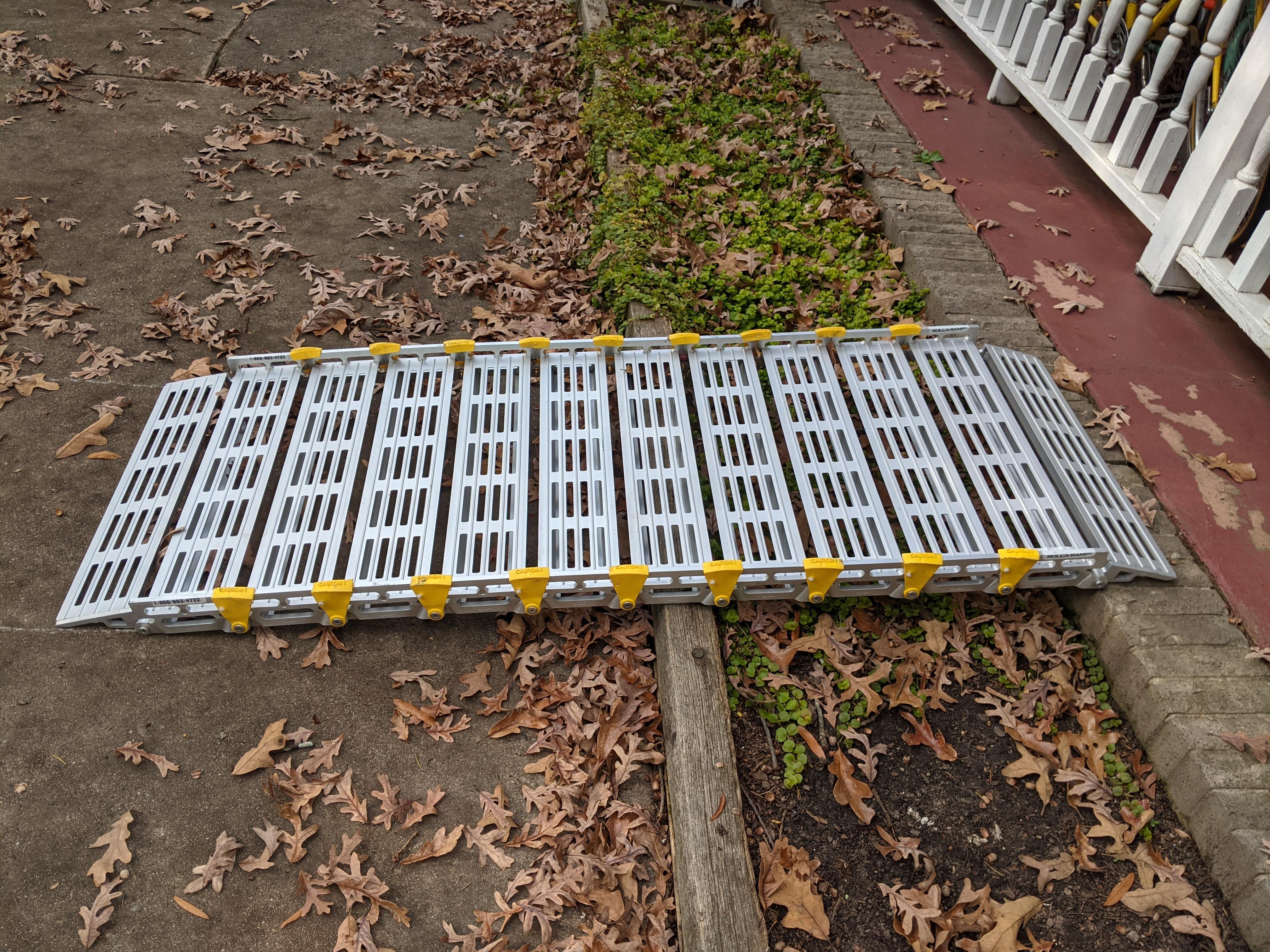 Photo 3 of portable ramp