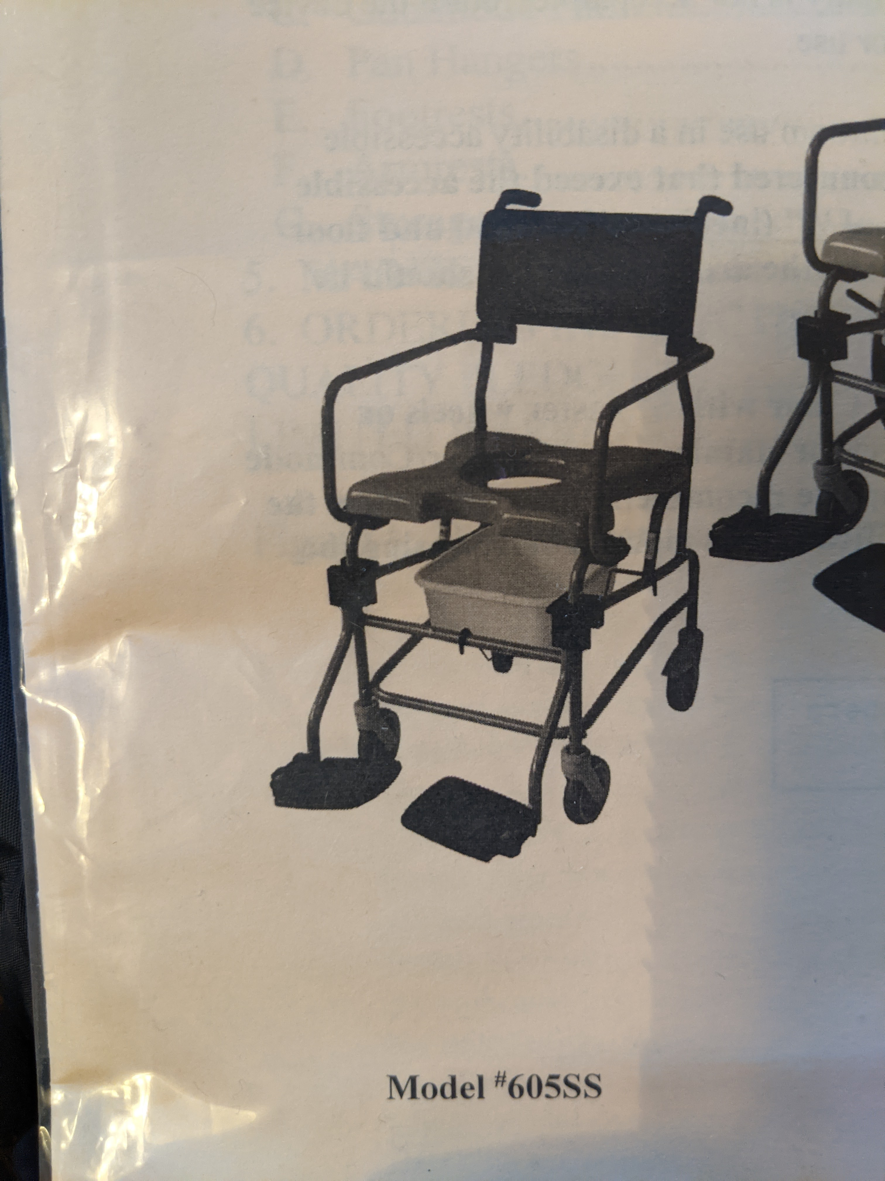 Photo 2 of Shower Chair / Commode