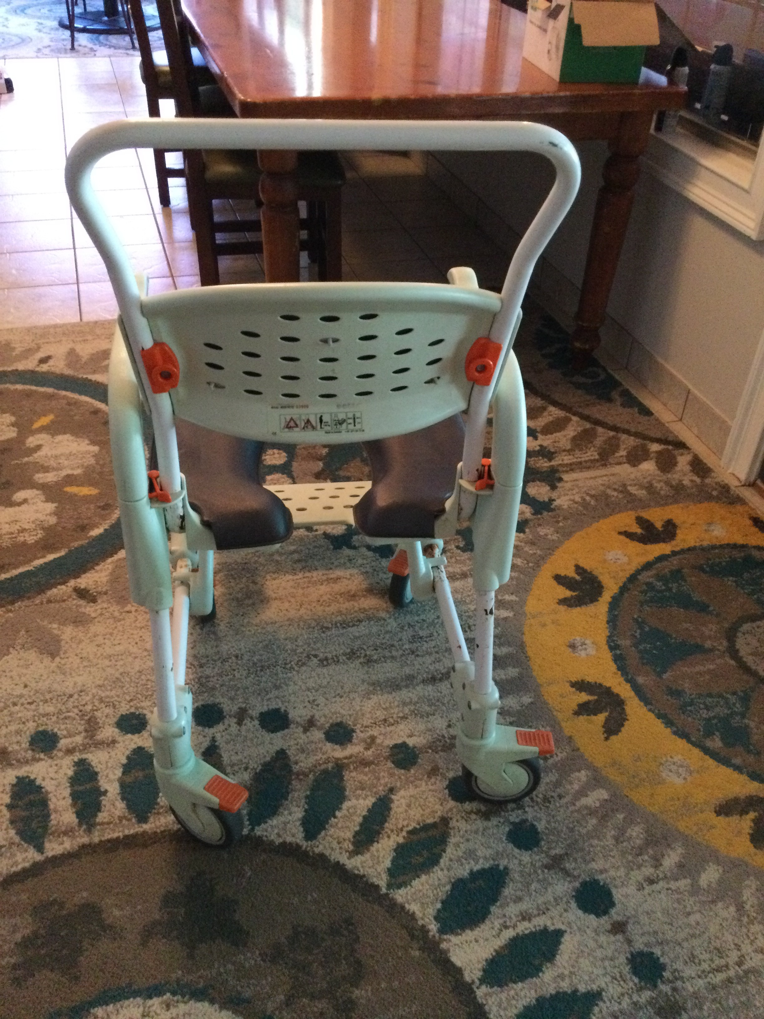 Photo 3 of Etac Commode Shower Chair