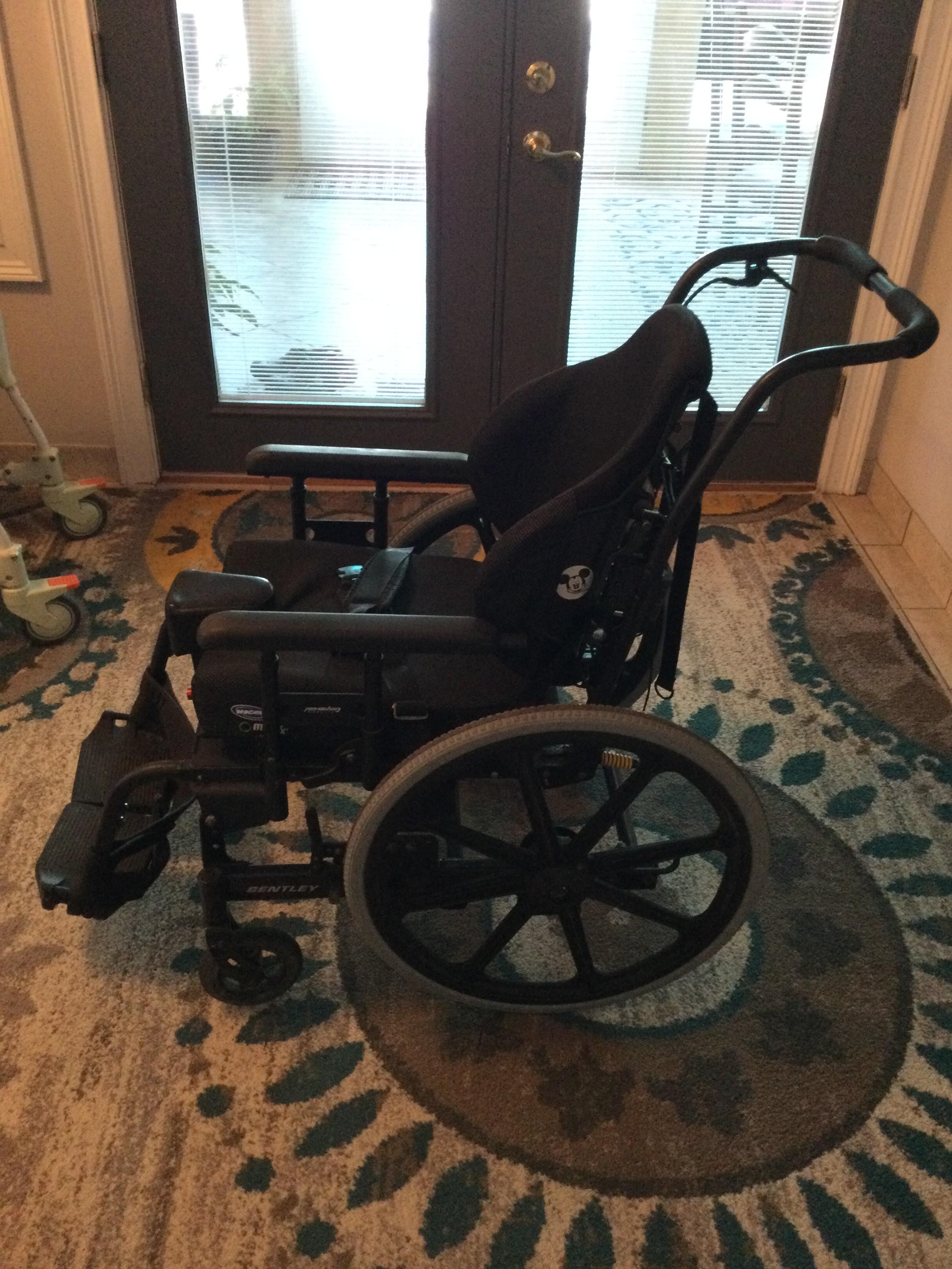 Photo 2 of Bentley Tilt-in-Space Manual Wheelchair