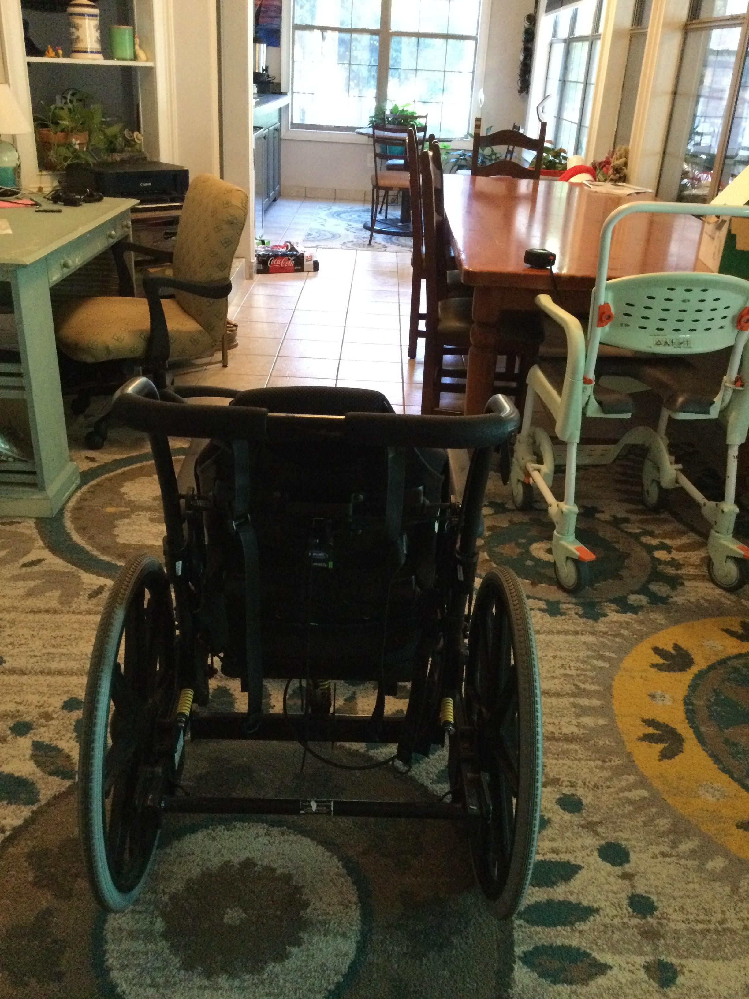 Photo 3 of Bentley Tilt-in-Space Manual Wheelchair
